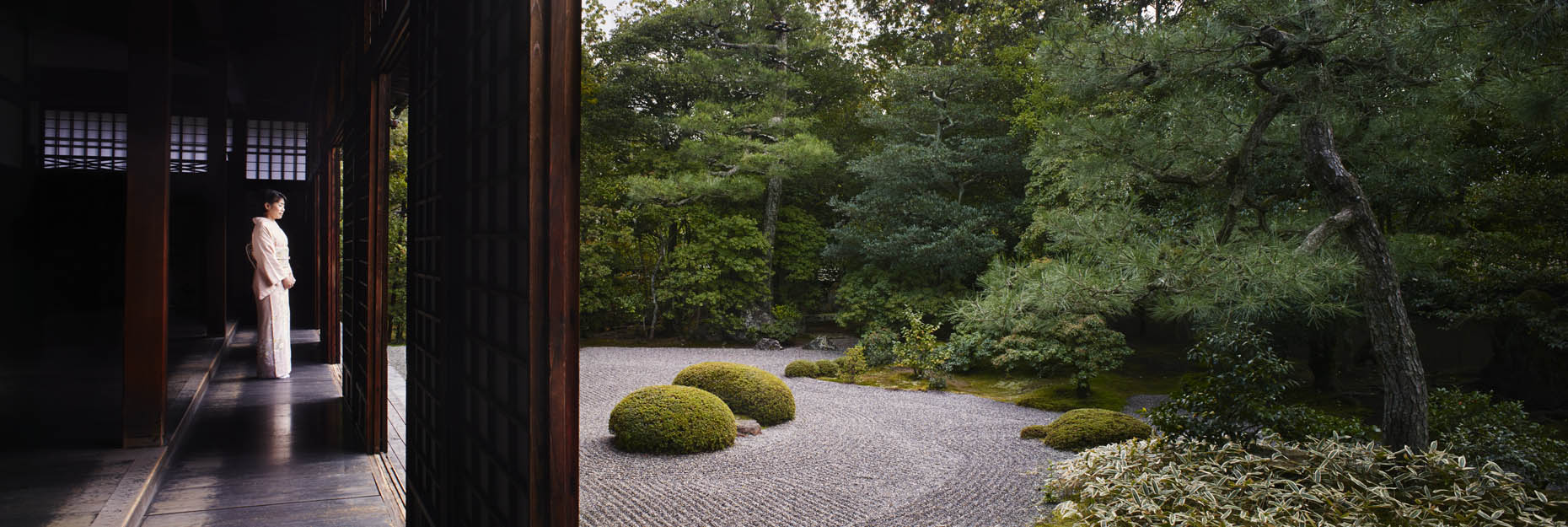 A zen garden, shot for the The Ritz-Carlton, Kyoto | Japan |