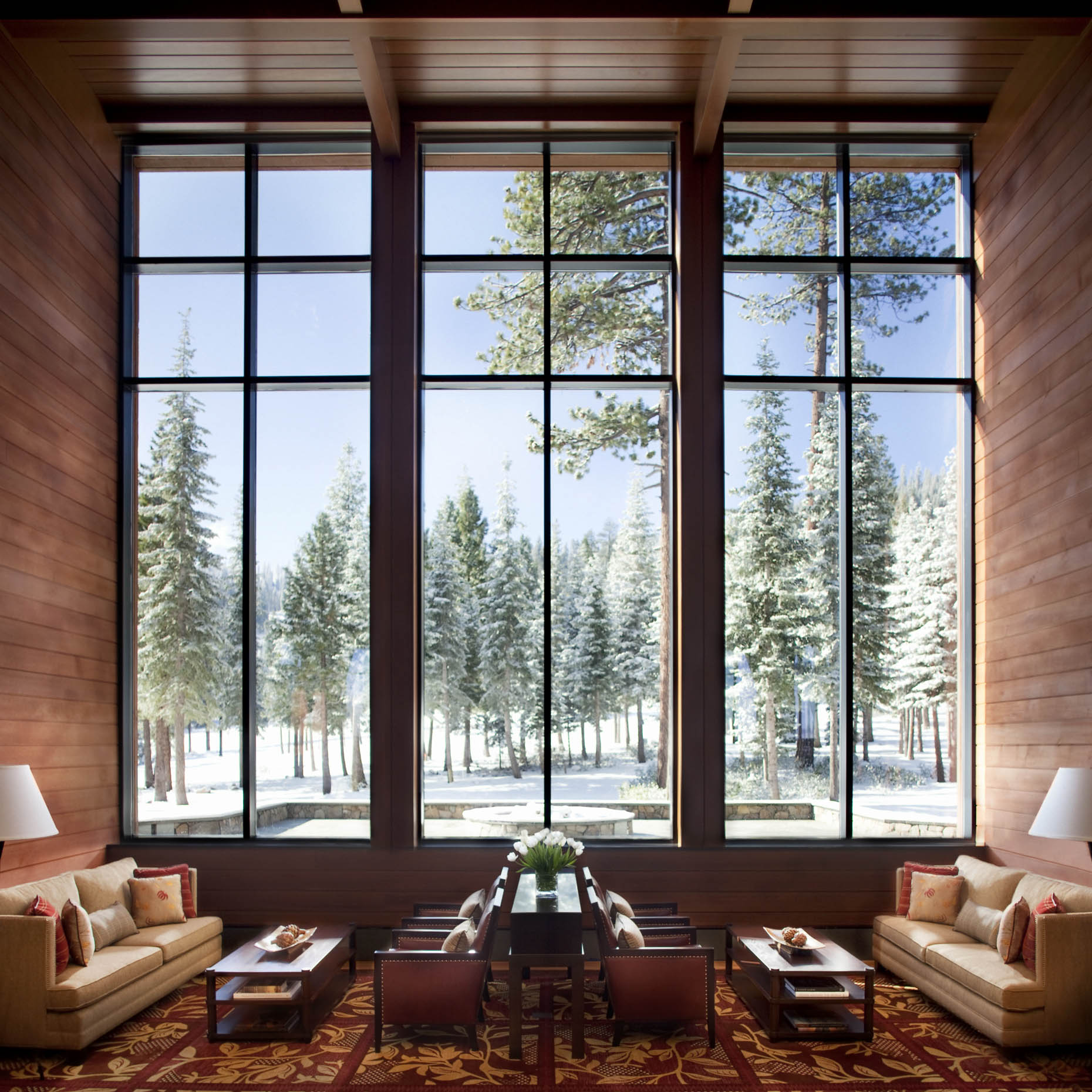 The Ritz-Carlton, Lake Tahoe lobby lounge | U.S.A. |