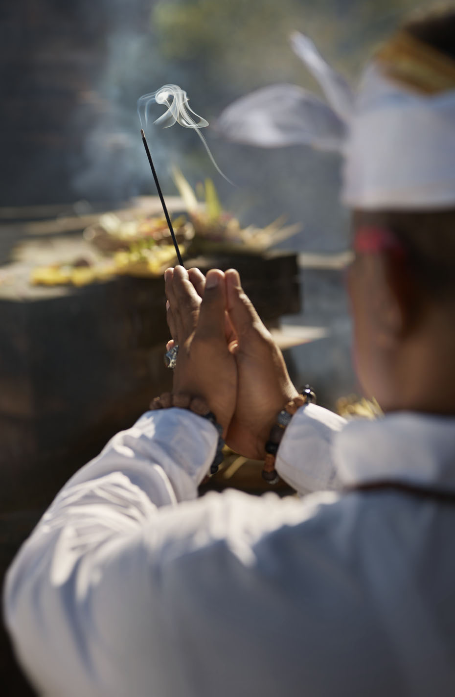 Morning prayers at Mandapa, a Ritz-Carlton Reserve | Bali |