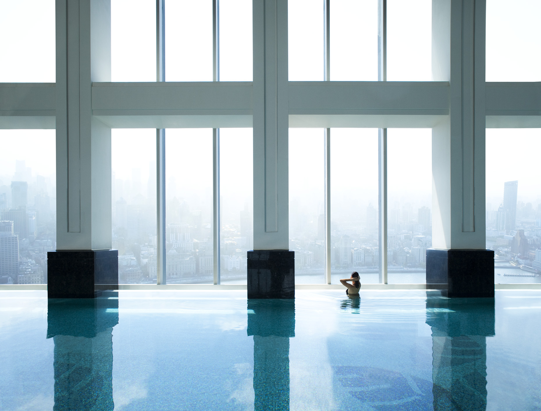 The Ritz-Carlton Shanghai, Pudong swimming pool | China |