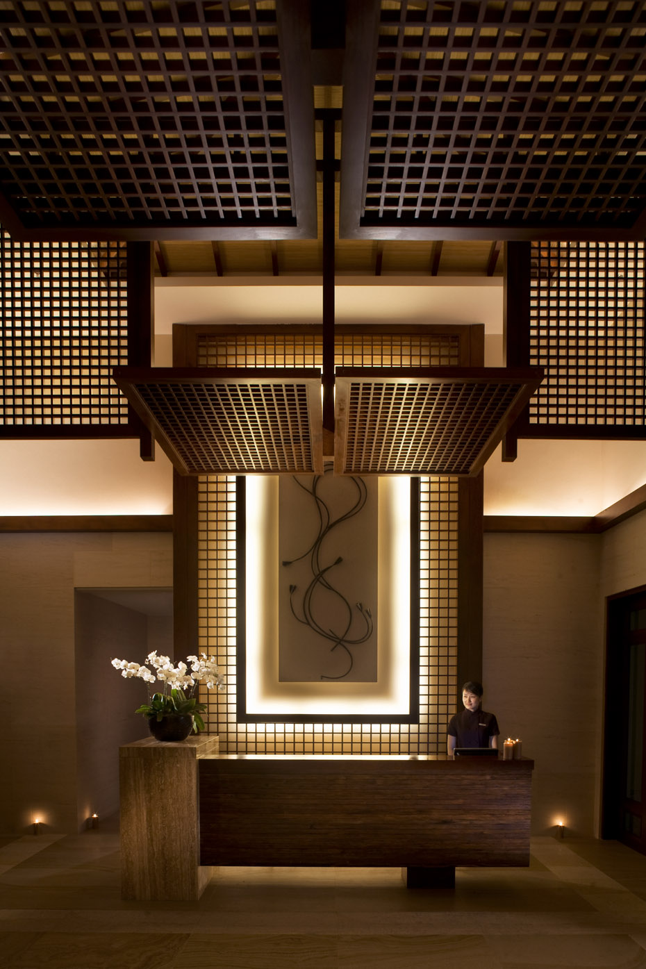 The spa reception at the Ritz-Carlton, Sanya | China |