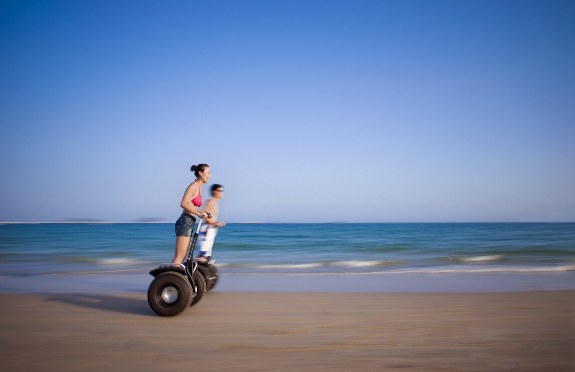 Segways on the beach at The Ritz-Carlton, Sanya | China |