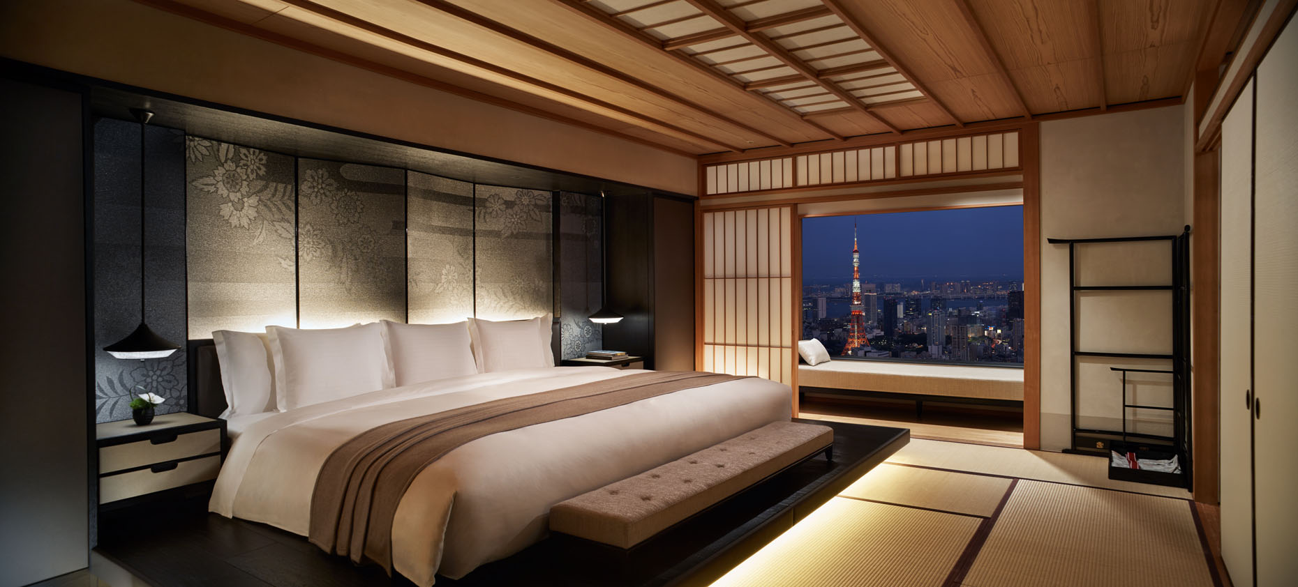 The Modern Japanese Suite at The Ritz-Carlton, Tokyo | Japan |